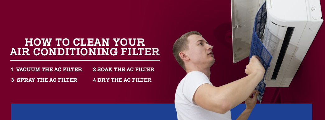 how to clean your ac filter