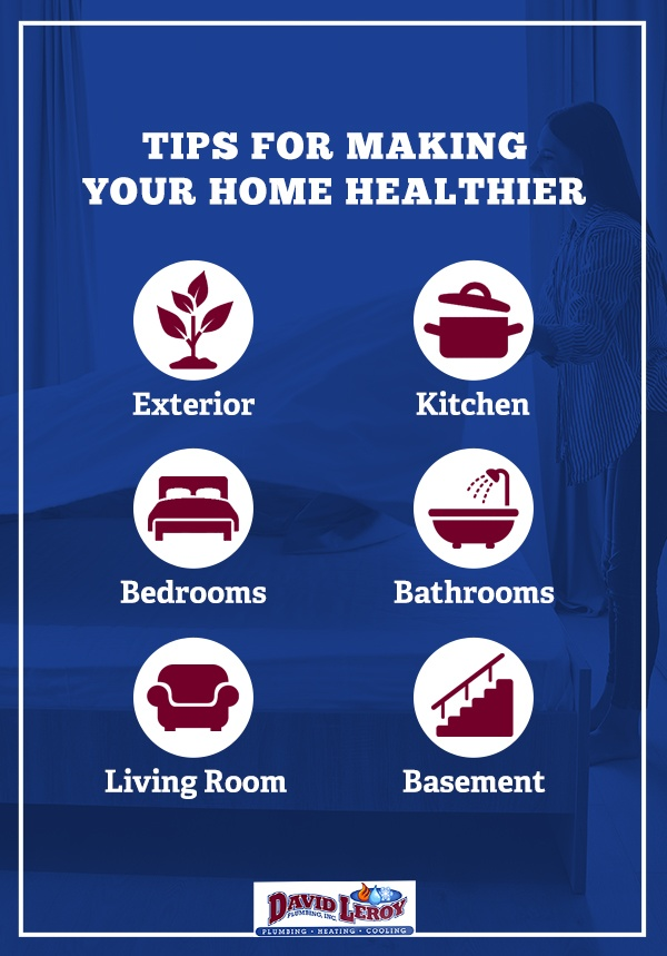 tips for making your home healthier
