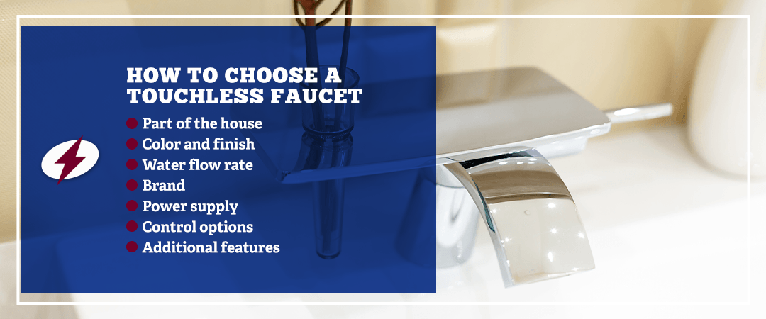 how to choose a touchless faucet