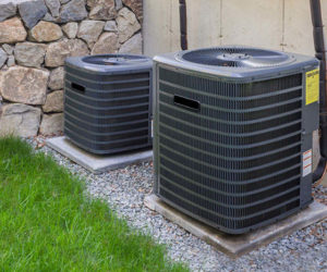 central ac system outside in harrisburg