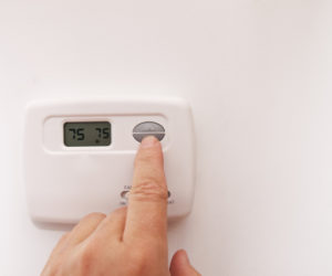 adjusting home heating system