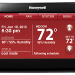 honeywell wifi 9000 thermostat with voice control system