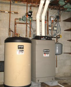 High Efficiency Gas Boiler Installation