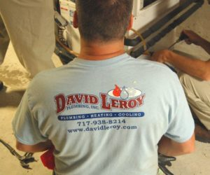 David LeRoy plumbing, heating and cooling
